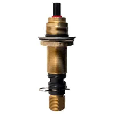 900-006 5-1/4 in. Hot Valve Assembly for Widespread End Bodies for Thread Down Handle Assemblies