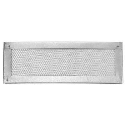16 in. x 6 in. Galvanized Steel Flat Screen Vent