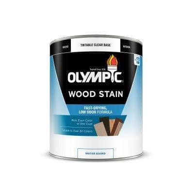1-qt. White Semi-Transparent Water-Based Interior Wood Stain
