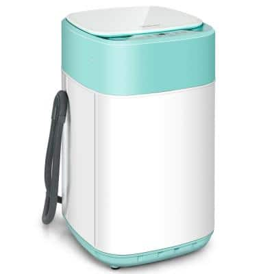1 cu. ft. Full-Automatic High Efficiency Portable Top Load Washer with Child Lock in Green-UL Certified