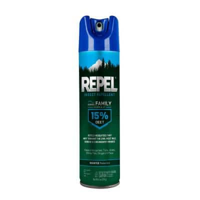 6.5 oz. Family Insect Repellent Aerosol (12-Pack)