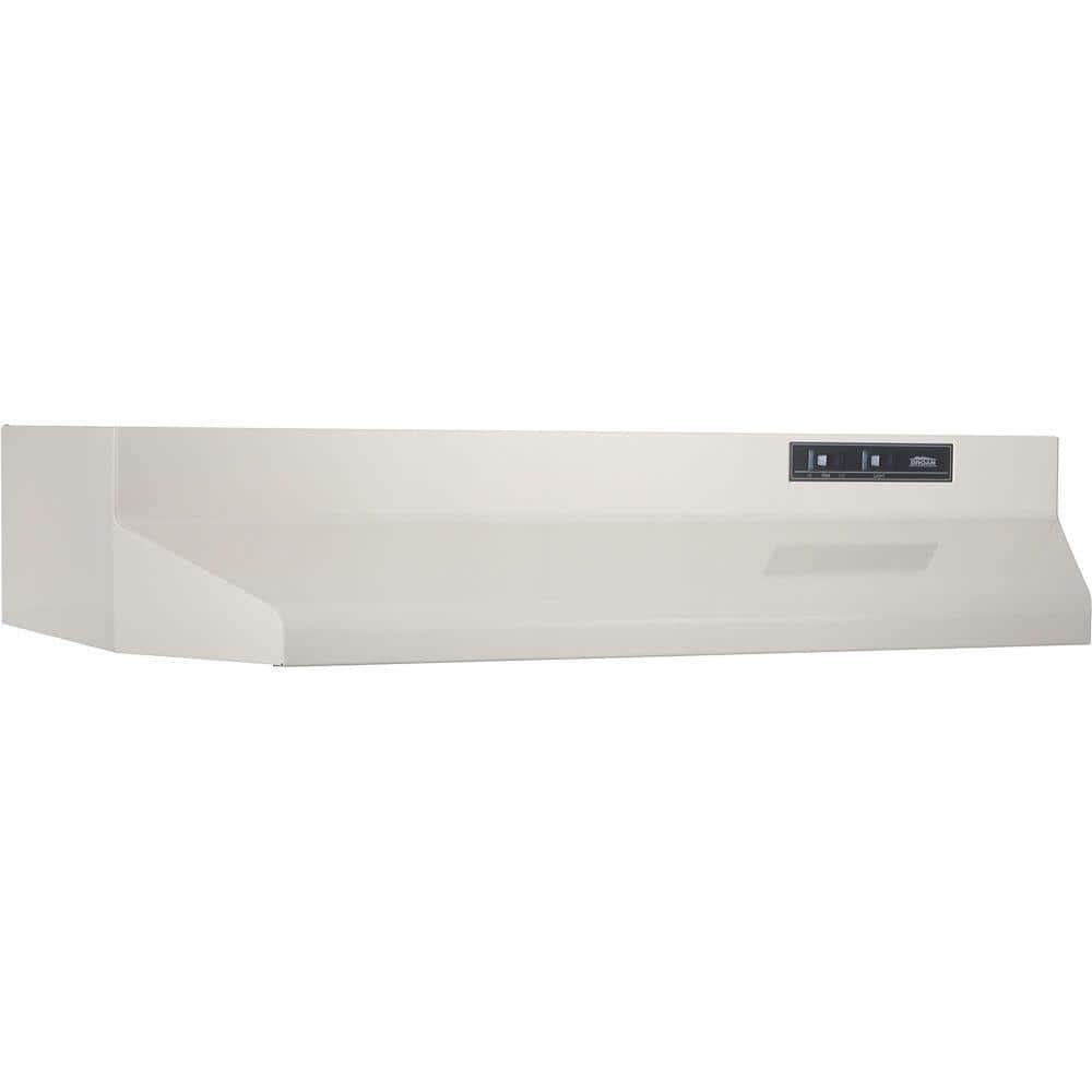 42000 Series 30 in. Under Cabinet Range Hood with Light in Bisque