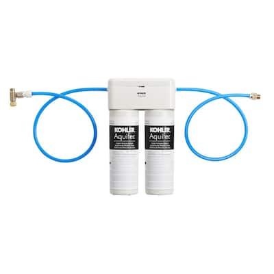 Aquifer Under-Sink Double Cartridge Water Filtration System