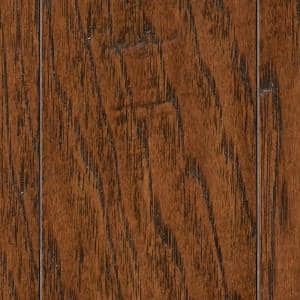HS Distressed Archwood Hickory 3/8 in. T x 3-1/2 in. and 6-1/2 in. W xVarying Length Engineered Hardwood(26.25 sq.ft/cs)