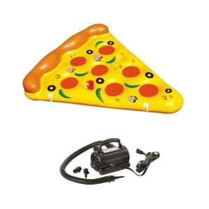 NEW Pool Inflatable Pizza Slice Float Raft Water with 110-Volt Air Pump