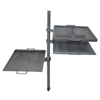 Mountain Man Steel Over Fire Grill and Griddle