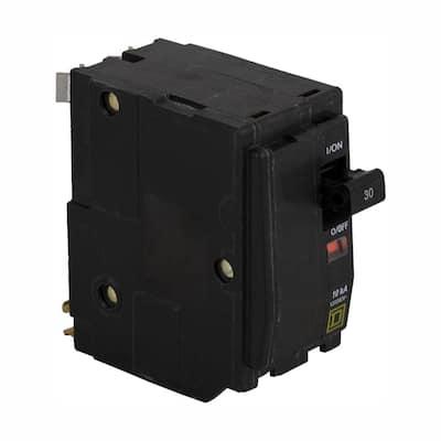 QO 30 Amp 2-Pole Circuit Breaker (3-Pack)