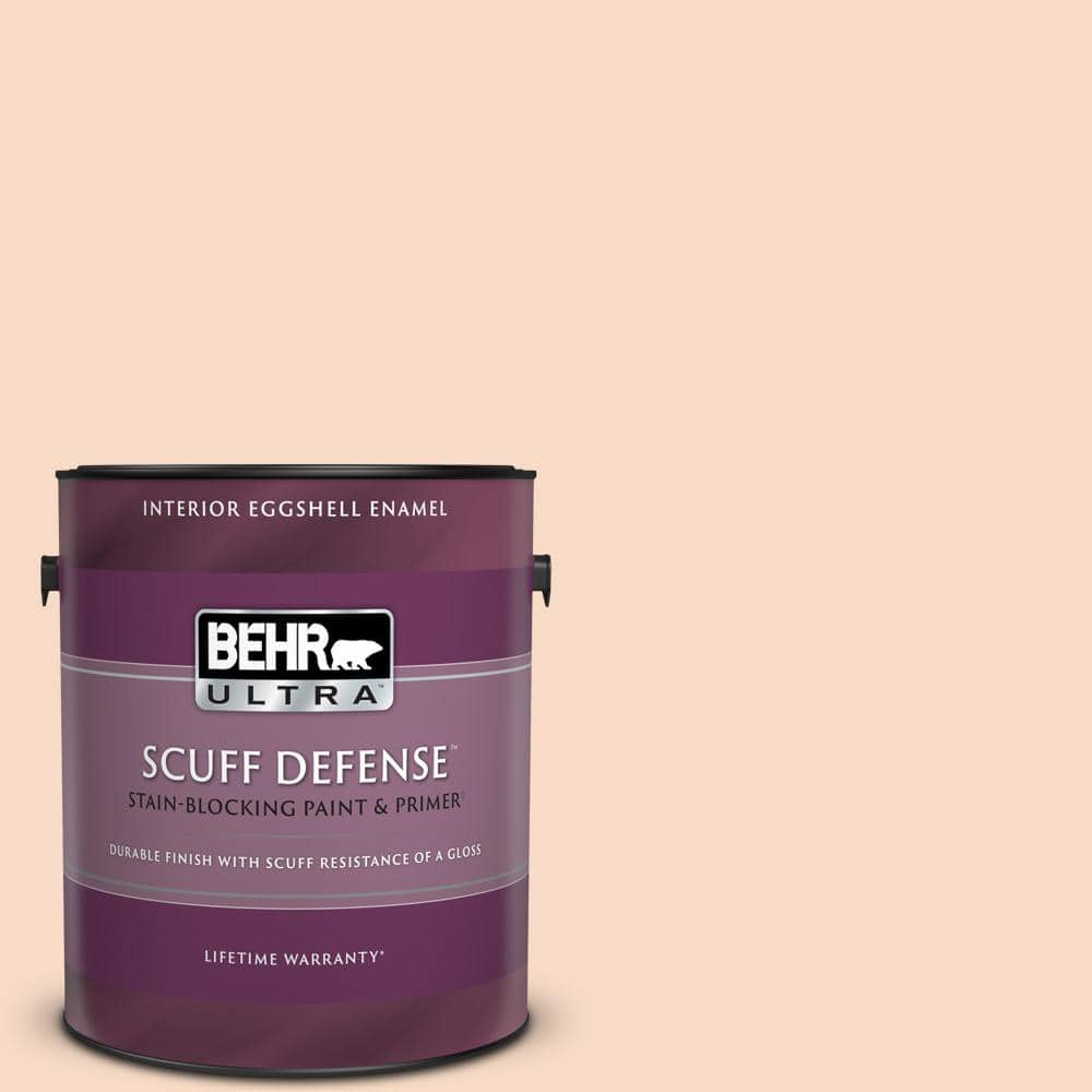 Behr Ultra 1 Gal M210 2 Paper Heart Extra Durable Eggshell Enamel Interior Paint Primer 275001 The Home Depot