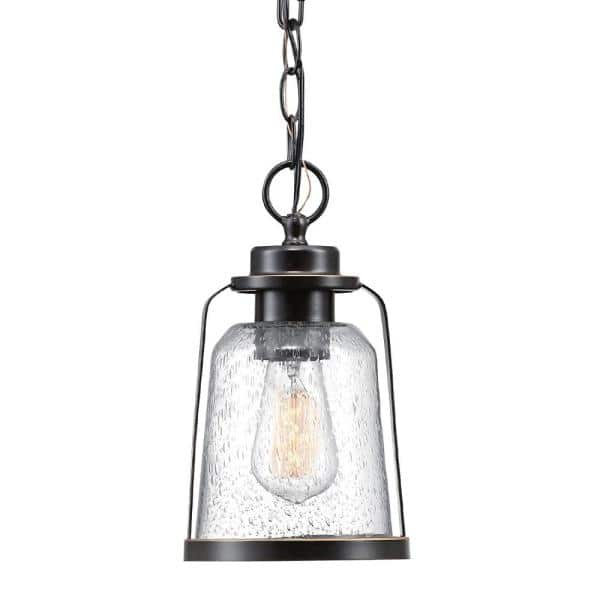 Globe Electric Roth 1 Light Oil Rubbed, Globe Electric Outdoor Pendant Light