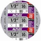 1/2 in. x 50 ft. Alflex RWA Metallic Aluminum Flexible Conduit