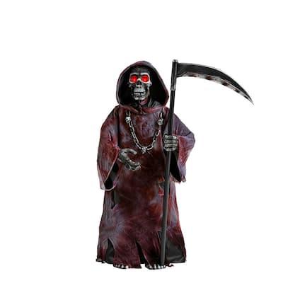 3 ft Halloween Animated LED Reaper