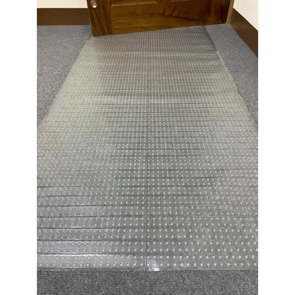 12 Ft Plastic Runner Rug Protector, Rug Protectors For Heavy Furniture