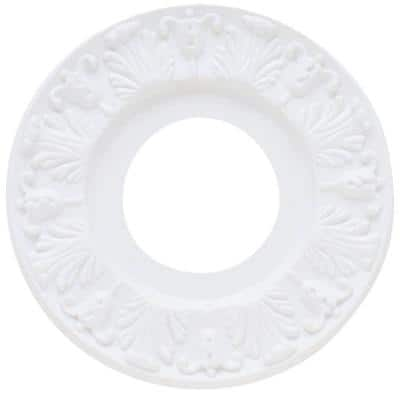 10 in. White Victorian Ceiling Medallion