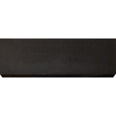 Black Rubber 9 in. x 24 in. Grid Stair Tread Cover (Set of 10)