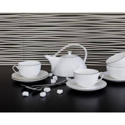 18.5'' x 24.3'' Wilderness Decorative 3D PVC Backsplash Panels in Brushed Nickel 9-Pieces