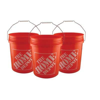 5 Gal. Homer Bucket (3-Pack)
