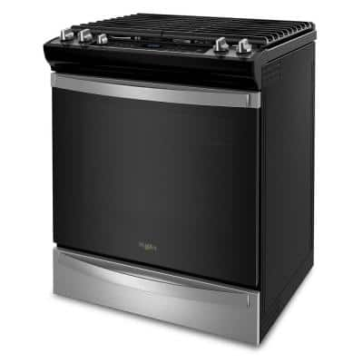 5.8 cu. ft. Gas Range with Air Fry Oven in Fingerprint Resistant Stainless Steel