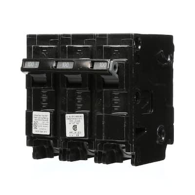 100 Amp 3-Pole Type HQP 65kA Circuit Breaker