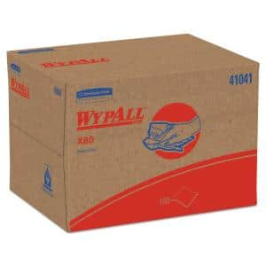 X80 Cloths, BRAG Box, HYDROKNIT, Blue, 11.1 in. x 16.8 in., 160 Wipers/Carton