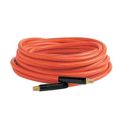 3/8 in. x 50 ft.\, 1/4 in. Air Hose Fittings Orange PVC