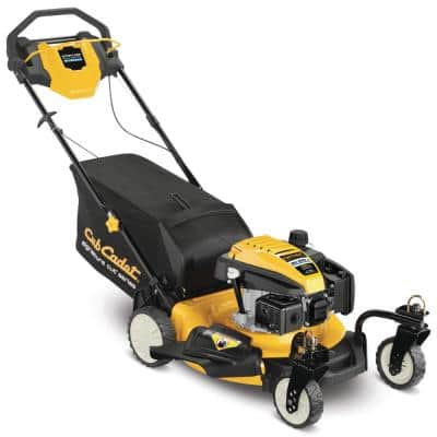 21 in. 159cc Cub Cadet Engine 3-in-1 Gas RWD Self Propelled Lawn Mower with Front Caster Wheels