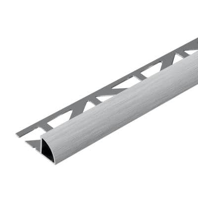 Durondell 3/8 in. Brushed Chrome Profile