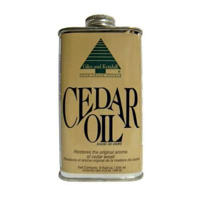 8-oz. Cedar Oil