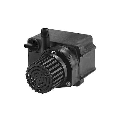 PE-2F-PW 300 GPH 47-Watt 1/40 HP Direct Drive Compact Premium Pond Pump