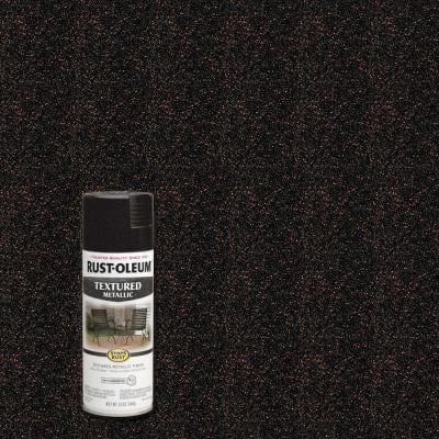 12 oz. Textured Metallic Moonlight Copper Protective Spray Paint (6-Pack)