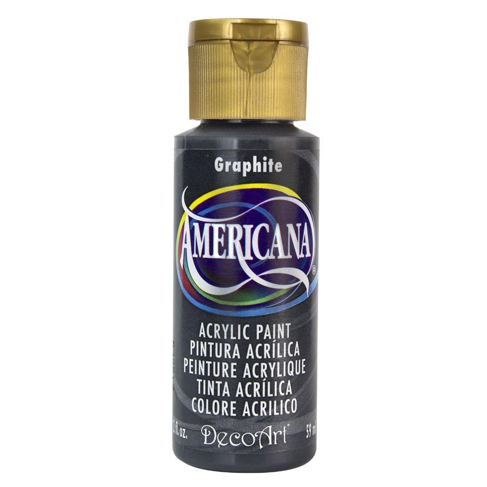 Americana 2 oz. Graphite Acrylic Paint