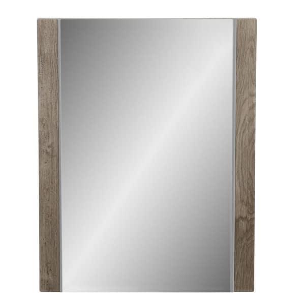 White Washed Oak Lrwm20 Wo, Oak Framed Bathroom Mirrors