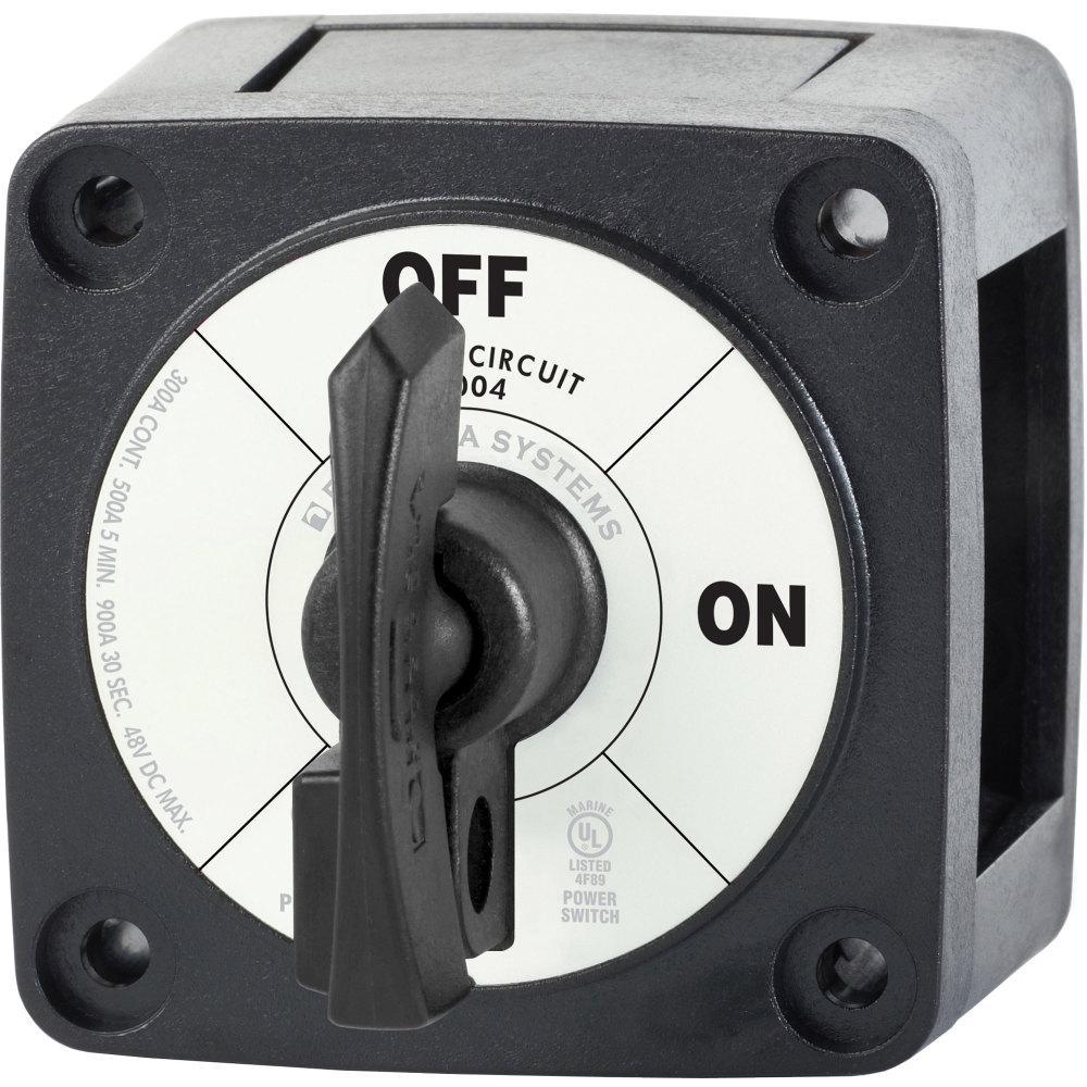 Black Single Circuit On-Off with Locking Key