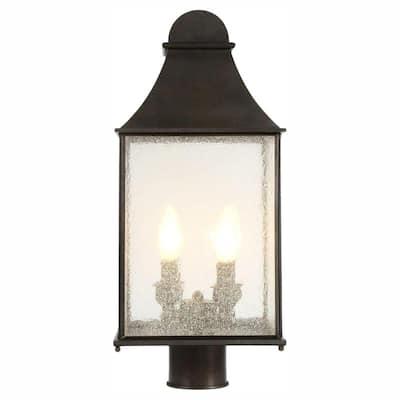 Revere Collection 4-Light Flemish Outdoor Post Lantern