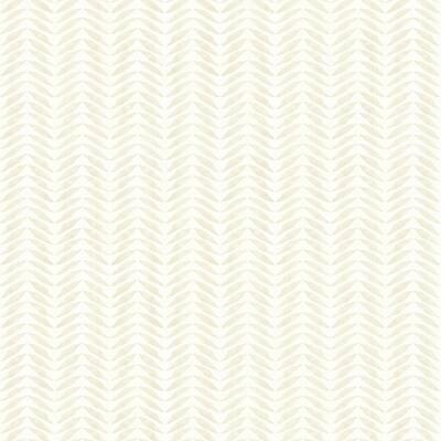 Espalier Champagne Chevron Stripe Champagne Wallpaper Sample
