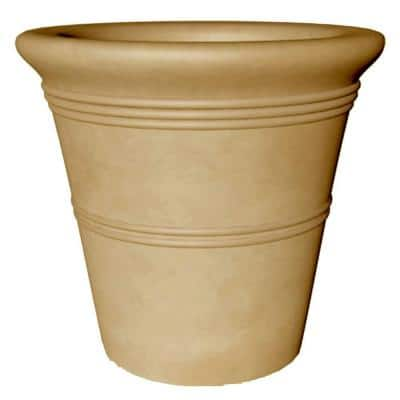 36 in. Round Clay Italiano Jumbo Vase
