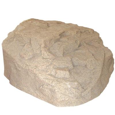 29 in. L x 30-1/2 in. W x 13-1/2 in. H Resin Boulder Rock
