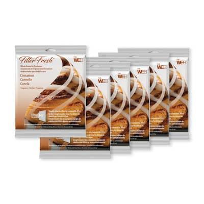 Filter Fresh Cinnamon Air Fresheners for Air Filters (6-Pack)