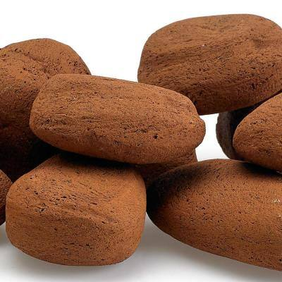 Mesa Red Lite Stones - 15 Stone Set Includes 2 lbs. Small Lava Rock