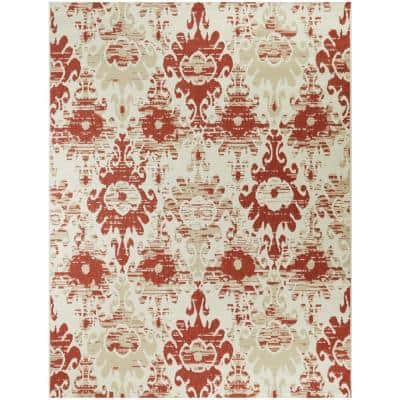 Ikat Outdoor Rugs Rugs The Home Depot