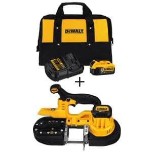 20-Volt MAX Cordless Band Saw with (1) 20-Volt Battery 5.0Ah & Charger