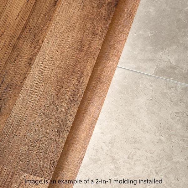 Mohawk Gadwall Oak 0 37 In T X 1 75, Mohawk Laminate Flooring Transitions