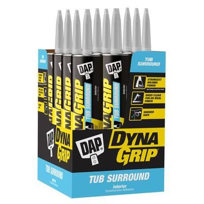 DYNAGRIP 10.3 oz. Tub Surround Construction Adhesive (12-Pack)