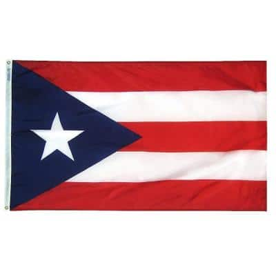 3 ft. x 5 ft. Puerto Rico Flag
