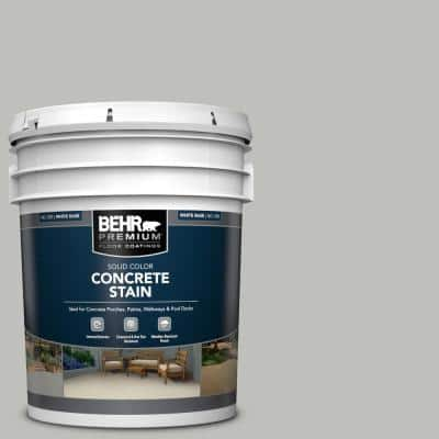 5 gal. #PFC-62 Pacific Fog Solid Color Flat Interior/Exterior Concrete Stain