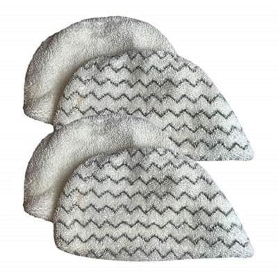 Steam Mop Pads Replacement for Bissell PowerFresh Steam Mop Part 5938, 203-2633 (4-Pack)