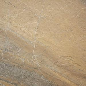Ayers Rock Bronzed Beacon 6-1/2 in. x 6-1/2 in. Glazed Porcelain Floor and Wall Tile (11.39 sq. ft. / case)