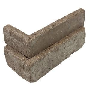 Rushmore Thin Brick Singles - Corners (Box of 25) - 7.625 in x 2.25 in (5.5 linear ft)