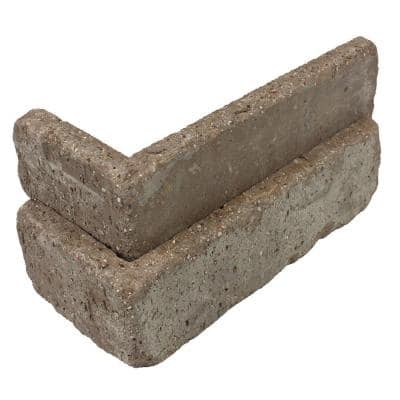 Rushmore Thin Brick Singles - Corners (Box of 25) - 7.625 in x 2.25 in (5.5 linear ft)