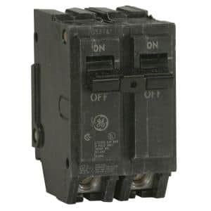 Q-Line 20 Amp 2 in. Double-Pole Circuit Breaker