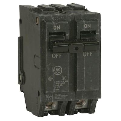 Q-Line 20 Amp 2 in. Double-Pole Circuit Breaker